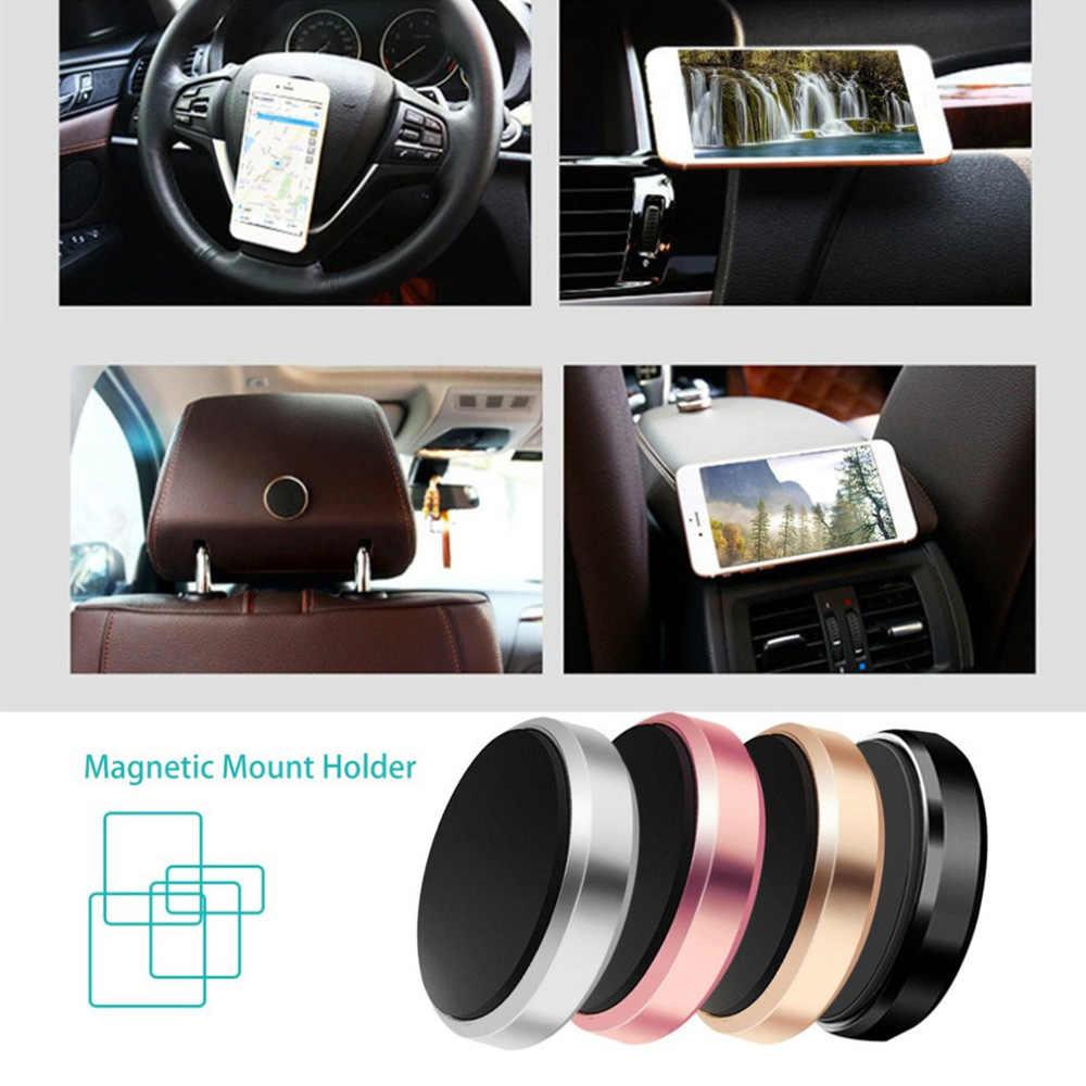 磁気車のダッシュボードステアリングホイールフラットホルダー iphone サムスンの gps マウントマグネット壁スタンドホルダー Xiaomi Pocophone F1