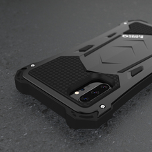 R JUST For Samsung Note 10 plus 10 Luxury Doom Armor Duty Shockproof Metal Aluminum Phone Cases For Samsung Galaxy S10 plus 5G