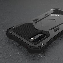 R JUST Per La Nota di Samsung 10 più di 10 di Lusso Doom Armatura Duty Antiurto Alluminio Del Metallo Del Telefono Custodie Per Samsung Galaxy S10 più di 5G