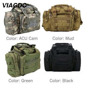 Image 2 - 15L 다기능 군사 전술 숄더 가방 600d 옥스포드 메신저 가방 야외 등산 사냥 하이킹 낚시 여행 포켓