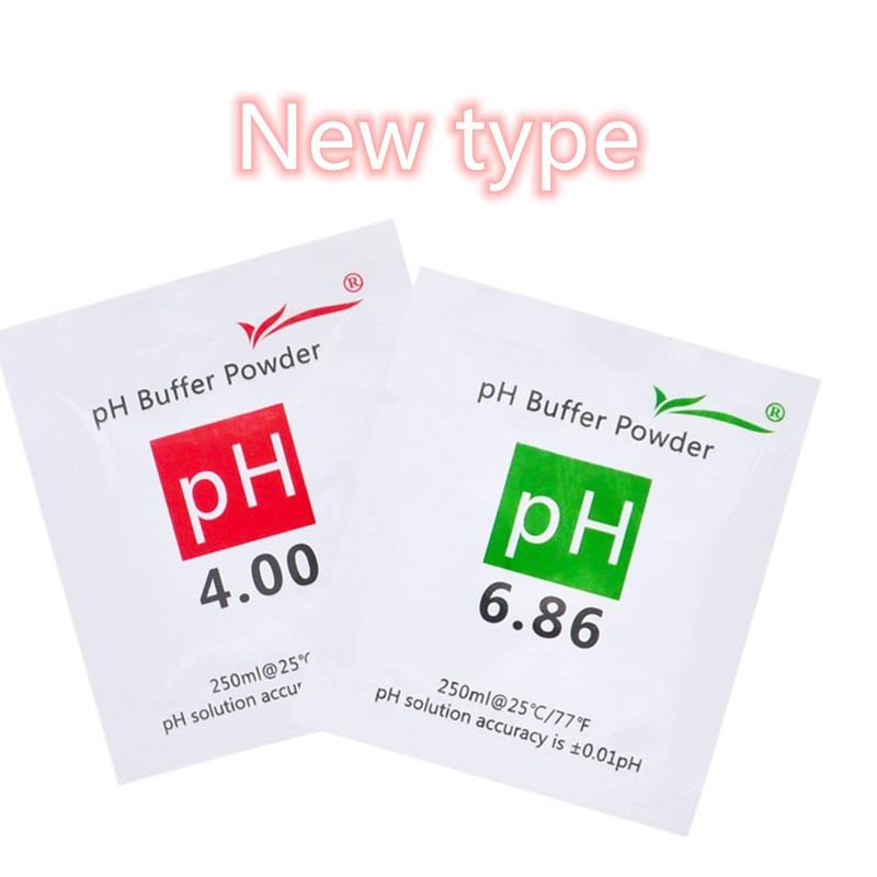 200 unids / lote Nuevo PH Buffer Powder para PH Test Meter Measure - Instrumentos de medición - foto 6