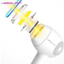 Lescolton IPL лазерное устройство для удаления волос ледяной Эпилятор постоянный Триммер бикини Электрический Фотоэпилятор