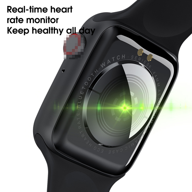 LEMFO W26 Smartwatch Original IWO W26 Smart Watch 2020 IWO 12 pro Men Women Watch 6 Bluetooth Calls ECG PPG Body Temperature 6