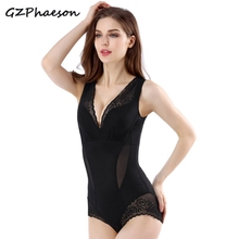 High Waist Shapewear Body Shapers Women Firm Control Bodysuits Trainer Shaper Slimming Anion Seamless Plus Size