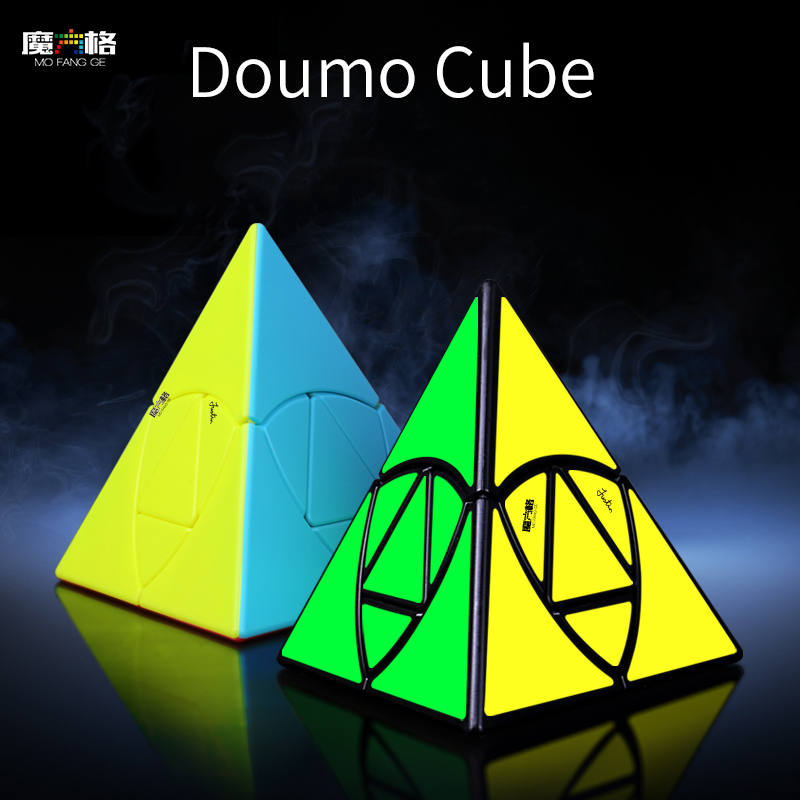 Qiyi Mofangge Doumo Cube Puzzle Designer With Justim Eplett Magic Cube Speed Cubo Magico Toys For Beginner Children Training
