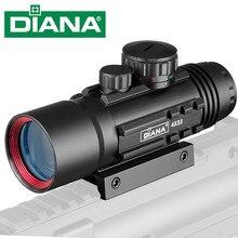 4X33 Tactical Optic Sight Green Red Illuminated Riflescope Hunting Rifle Scope Sniper Airsoft Air Guns