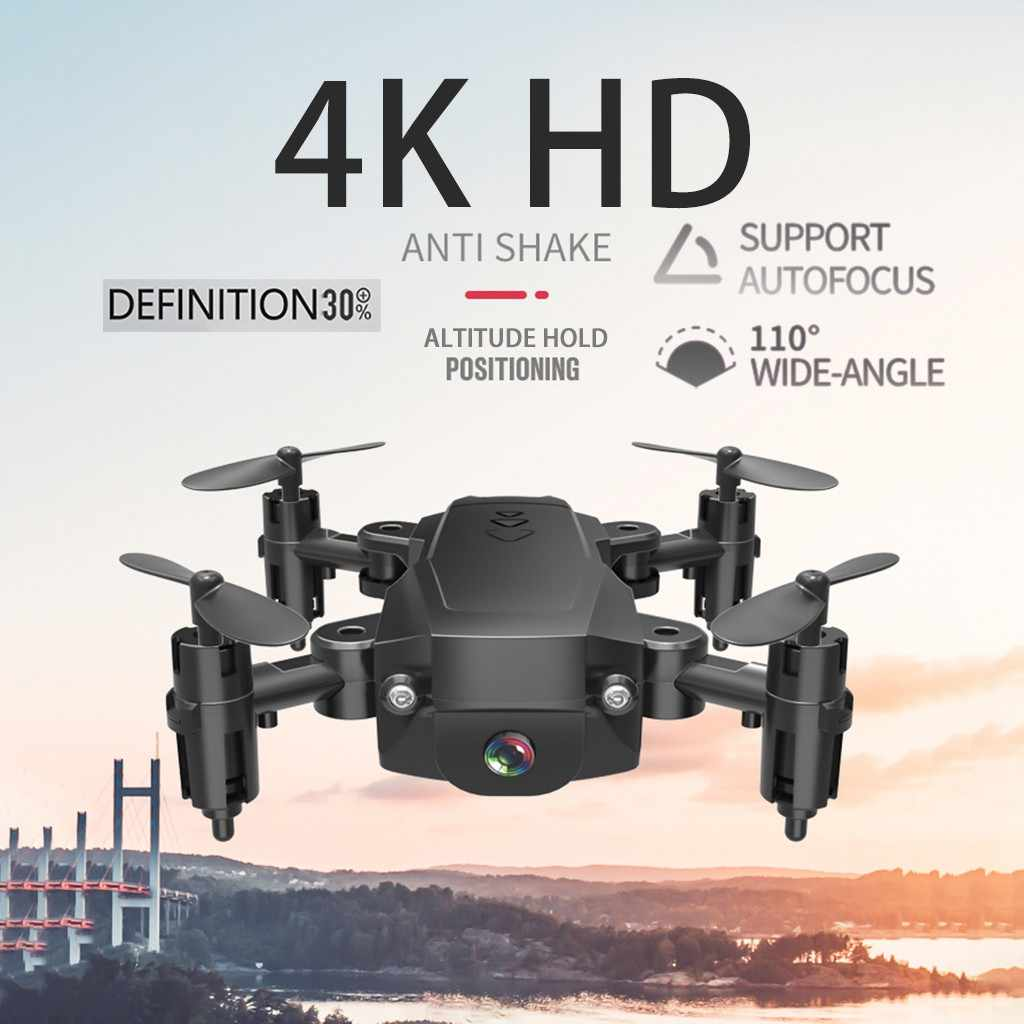 H16 2.4G 4K HD Camera WIFI FPV Hoogte Hold Opvouwbare Micro Pocket Selfie Drone Quadcopter H16 2.4G 4K HD Camera Opvouwbare # G20