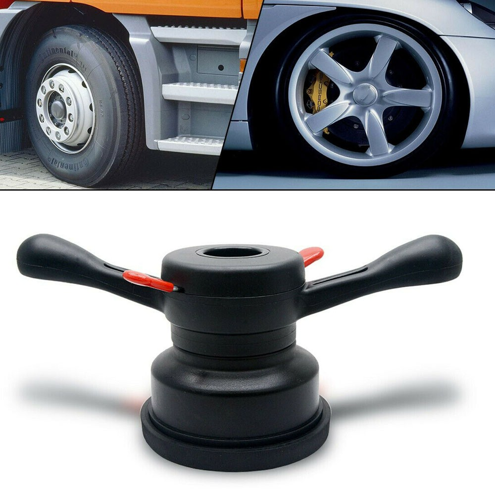 36//38//40 mm Wheel Balancer Quick Release Hub Wing Nut Tire Change Tool Black DY