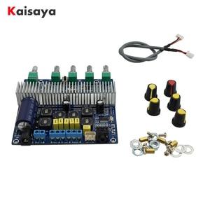 Image 1 - TPA3116D2 Bluetooth 4.2 Subwoofer Audio Amplifier Board 2.1 Channel High Power 2*50W+100W TPA3116 amplificador DC12V 24V D3 001