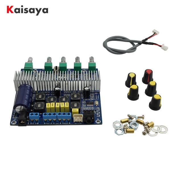 TPA3116D2 Bluetooth 4.2 Subwoofer Audio Amplifier Board 2.1 Channel High Power 2*50W+100W TPA3116 amplificador DC12V 24V D3 001