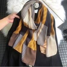Cotton Scarf Shawl Scarves-Bandana Hijab Pashmina Winter Beach-Quality Fashion Women