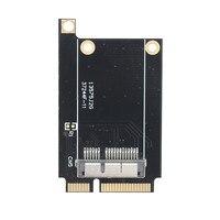 جهاز كمبيوتر شخصى صغير-e إلى لاسلكي واي فاي بطاقة محول قوس ل BCM94360CD BCM94331CD BCM94360CS BCM94360CS2 صالح ماك بوك برو/الهواء