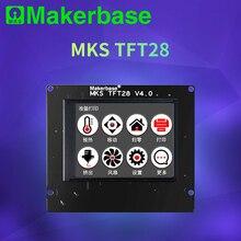 Makerbase mks TFT28 タッチスクリーンスマートディスプレイコントローラ 3d プリンタ部品 2.8 インチフルカラーサポート wifi ワイヤレス制御