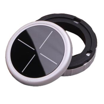 Aluminum alloy Crystal multimedia knob new 1 2 3 5 series For BMW X1 X3 X5 X6 modified button decorative cover image