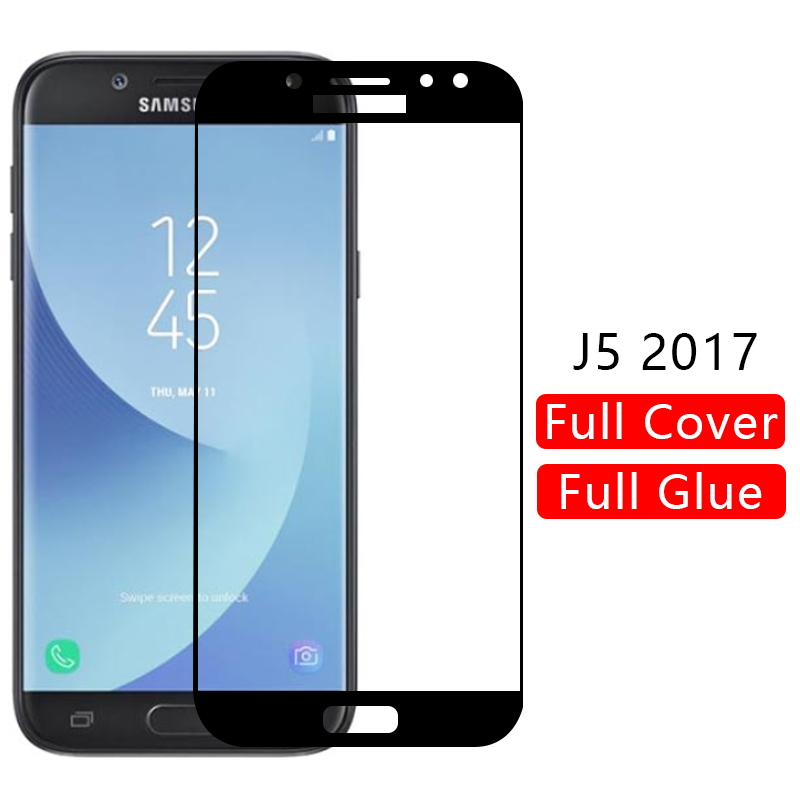 case for <font><b>samsung</b></font> j5 2017 cover tempered <font><b>glass</b></font> screen protector on galaxy <font><b>j</b></font> <font><b>5</b></font> 5j j52017 protective phone coque <font><b>5</b></font>.2 j530 original image