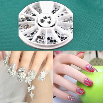 1Pcs Fashion Mixed Color Nail Art Files Dust Brush Cleaning Buffer Sponge Buffing Grit Sand UV Gel Polish Acrylic Manicure Tools 4