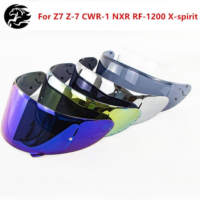 Профессиональный мотоциклетный гоночный шлем козырек полное лицо линза шлема для X14 Z7 Z-7 CWR-1 NXR RF-1200 X-spirit шлем очки