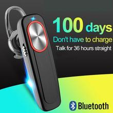 Wireless Bluetooth Headset Long Standby With Mic Handsfree W