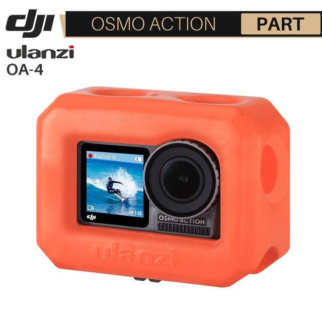 Ulanzi OA 4 فلاتي الإسكان الإسكان ل Dji oomo عمل العائمة البرتقال مشروع شل الحال بالنسبة لركوب الأمواج التزلج