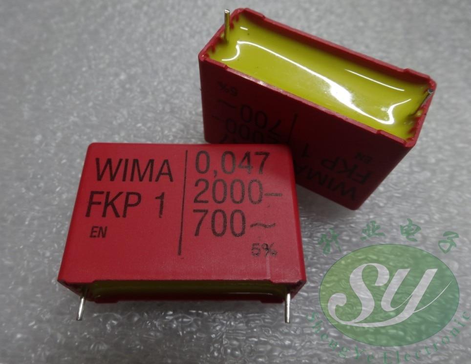 4PCS/10PCS WIMA FKP1 Series 0.047uF/2000V 47nf 473 New 38mm Film Capacitors FREE SHIPPING
