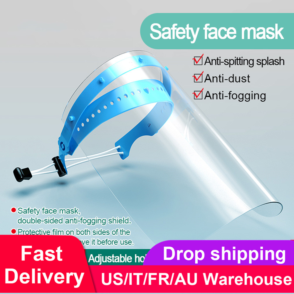 10pcs Shield Replacement Masks Anti-fog And Anti-dust Mask Safety Splash Mask Full Face Shield Mask Flip Up Visor Protection