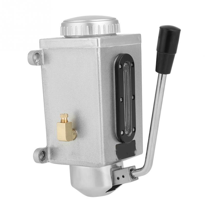 Lubrication Manual Oil Pump Hand Lubrication 1L 4Mm Double Outlet Manual Lubrication Pump Hand Pressure Oil Pot Pump