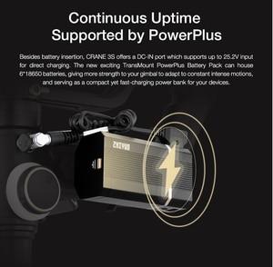 Image 4 - Zhiyun מנוף 3 S/SE Gimbal מייצב 3 ציר כף יד Gimbal 6.5kg מטען שידור תמונה עבור DSLR מצלמה VS מנוף 2