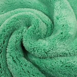 Image 2 - Car Wash Cleaning Soft Microfiber Towel Car Detailing Microfiber Rag for Car Polish Thick Plush Drying Absorption Car Care Cloth