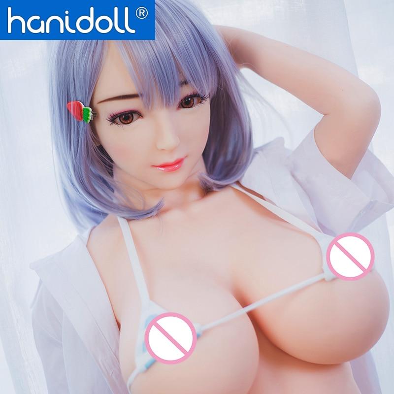 Hanidoll Silicone Sex Dolls 140cm Love Doll Metal Skeleton Full Sized Realistic Vagina Breast Masturbator TPE Sex Doll For Men