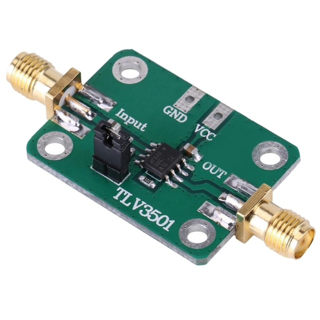 TLV3501 Module de mise en forme avant de compteur de fréquence de comparateur à grande vitesse à canal unique DC 2.7-5V tête femelle SMA