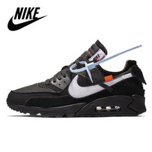 Nike Air Max 90 esencial transpirables de los hombres Zapatos de deporte al aire libre zapatillas deportivo masaje calzado de diseñador 537384-0-9-0.