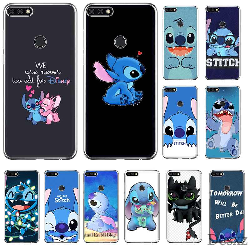 Mobile Phone Case TPU For Huawei P30 P20 P10 P8 P9 Lite Pro Huawei P Smart Z Plus Cover Cartoon Lilo Stitch Shell