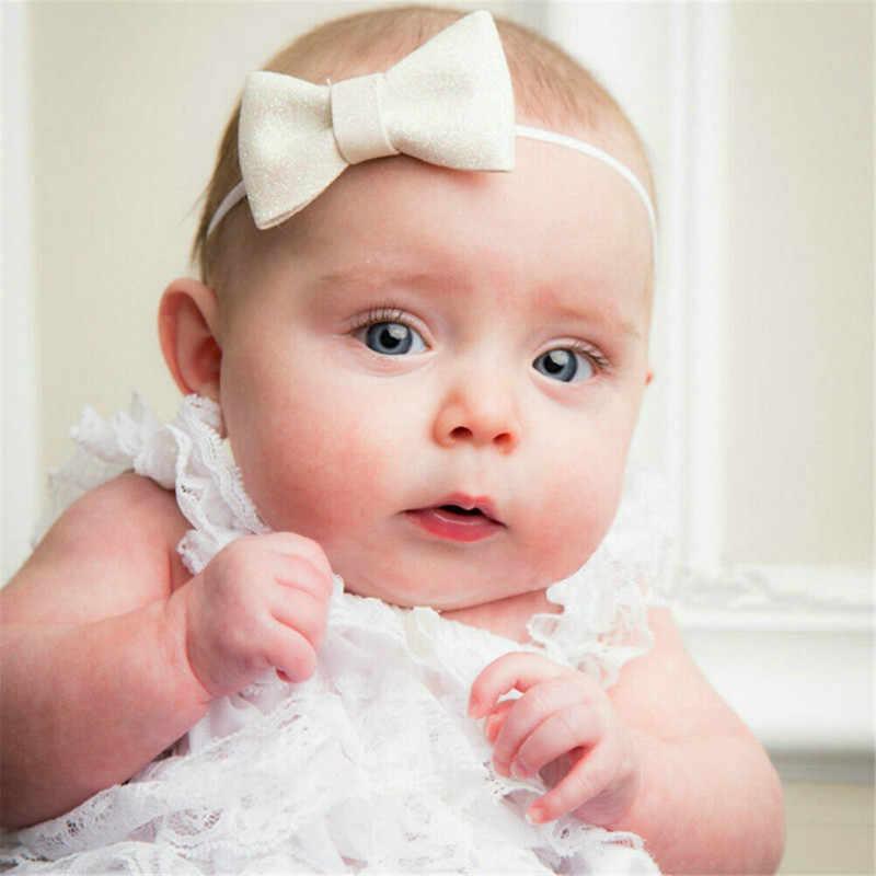 فتيات صغيرات يتدربن على المشي رئيس التفاف عقدة علوي كبير القوس عمامة عقال الوليد الرضع الأميرة أغطية الرأس إكسسوارات الشعر 2019 Hot