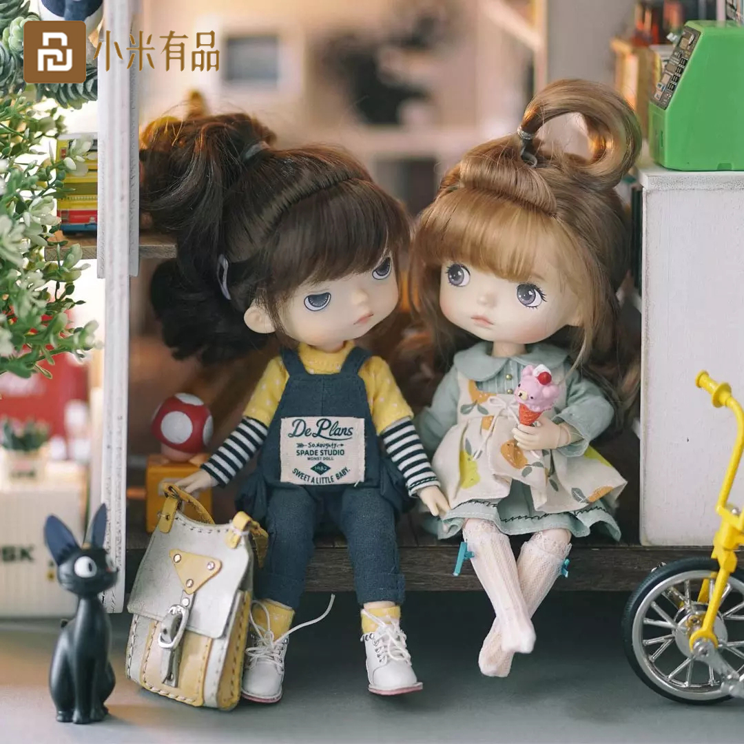 Xiaomi Monst Savage Baby Rubber Dolls Height 20 Centimeters Cabinet Delicate Childlike Innocence Lovely Toys 3 styles