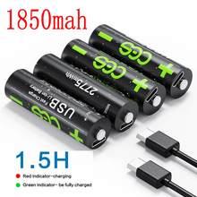 CES – batterie lithium-ion rechargeable, 1.5V, 2775mwh, li-polymère, 1850mah
