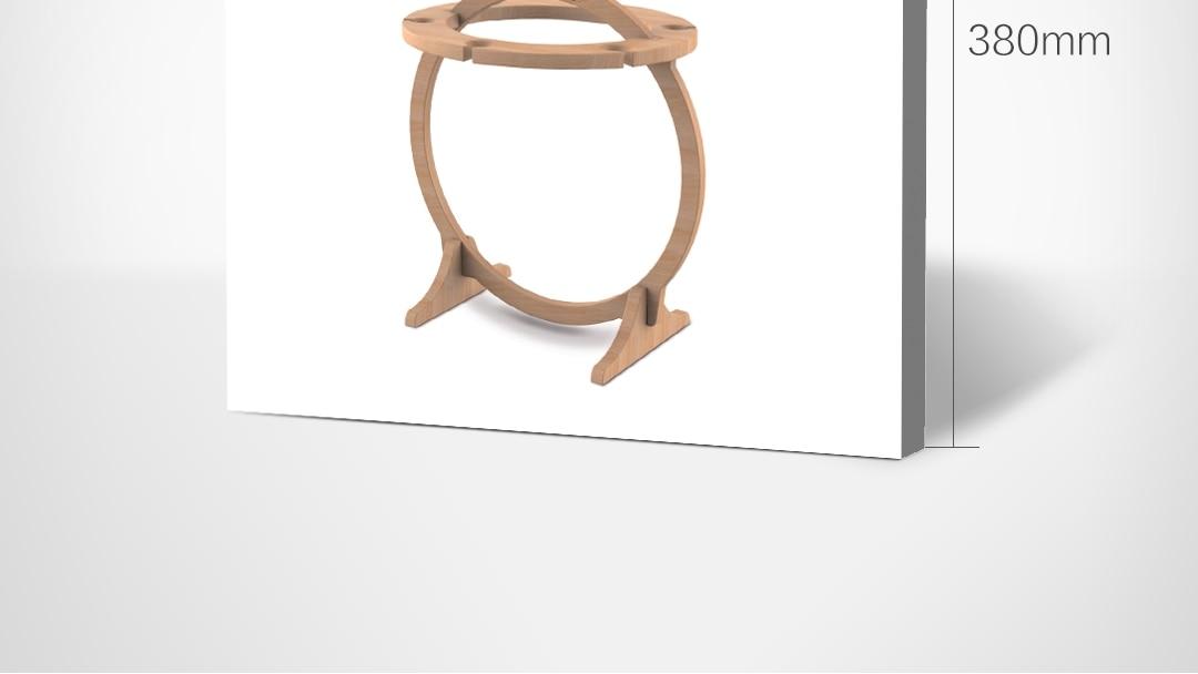 vidro de vinho importado eucalipto design simples fácil montar