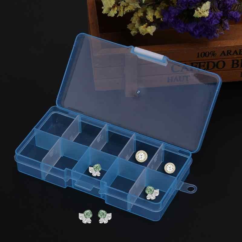 Étui de transport Transparent détachable acrylique boîte à bijoux offre spéciale anneau Portable voyage bijoux organisateur de stockage
