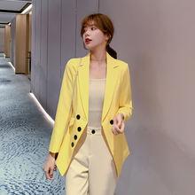 Элегантные длинные костюмы женский костюм топ Женское пальто