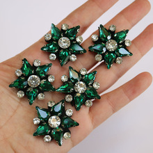 5pc/lot Handmade Star beaded patches for clothing DIY rhinestone sequins Sew on patch embroidery appliques parche ropa