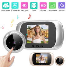 Doorbell Storage-Camera Visual-Door-Viewer Ding Dong Night-Vision IR LCD Smart-Access-Control-System