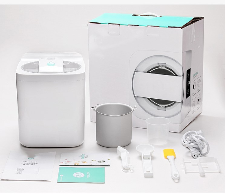 1L Automatic and Intelligent Mini Ice Cream Maker for Household to Prepare Delicious Ice Cream and Sorbet 19