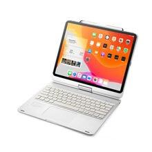 Вращающийся на 360 градусов Чехол для ipad pro 129 2020 с клавиатурой