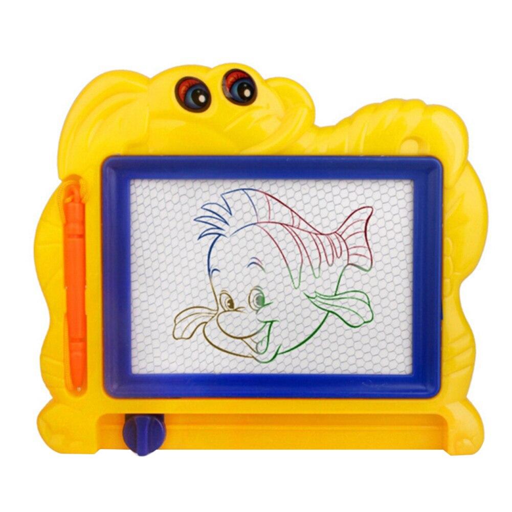 Детская стираемая магнитная доска для рисования с мультяшным рисунком, детская игрушка