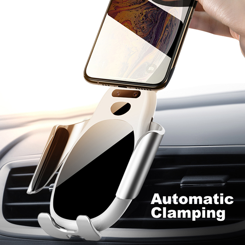 Infrared Automatic Induction Car Wireless Charger 15 Watt Quick Charging Vehicle-Mounted Holder For Iphone Xs Samsung S10