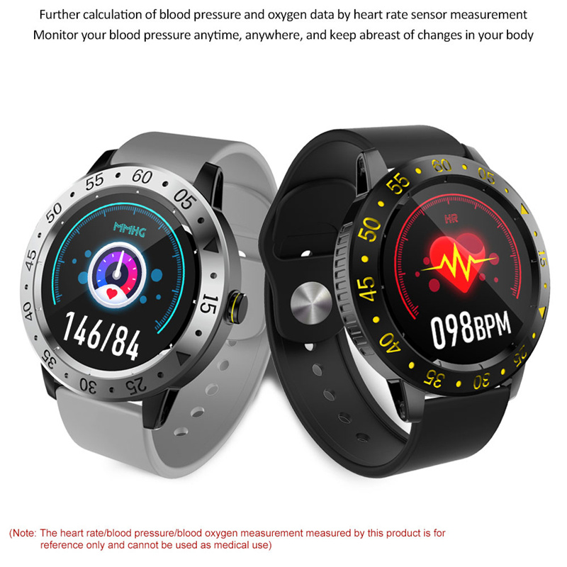 New product CF58 Full rough screen touch smart watch long standby waterproof Weather Display Pedometer sport smartwatch CF18 68