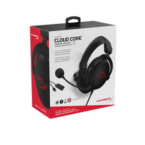 Image 5 - Kingston HyperX Wired Headset Cloud Core+ 7.1 Plus Hifi Surround Sound Gaming Headphones Noise Cancelling Microphone Controller