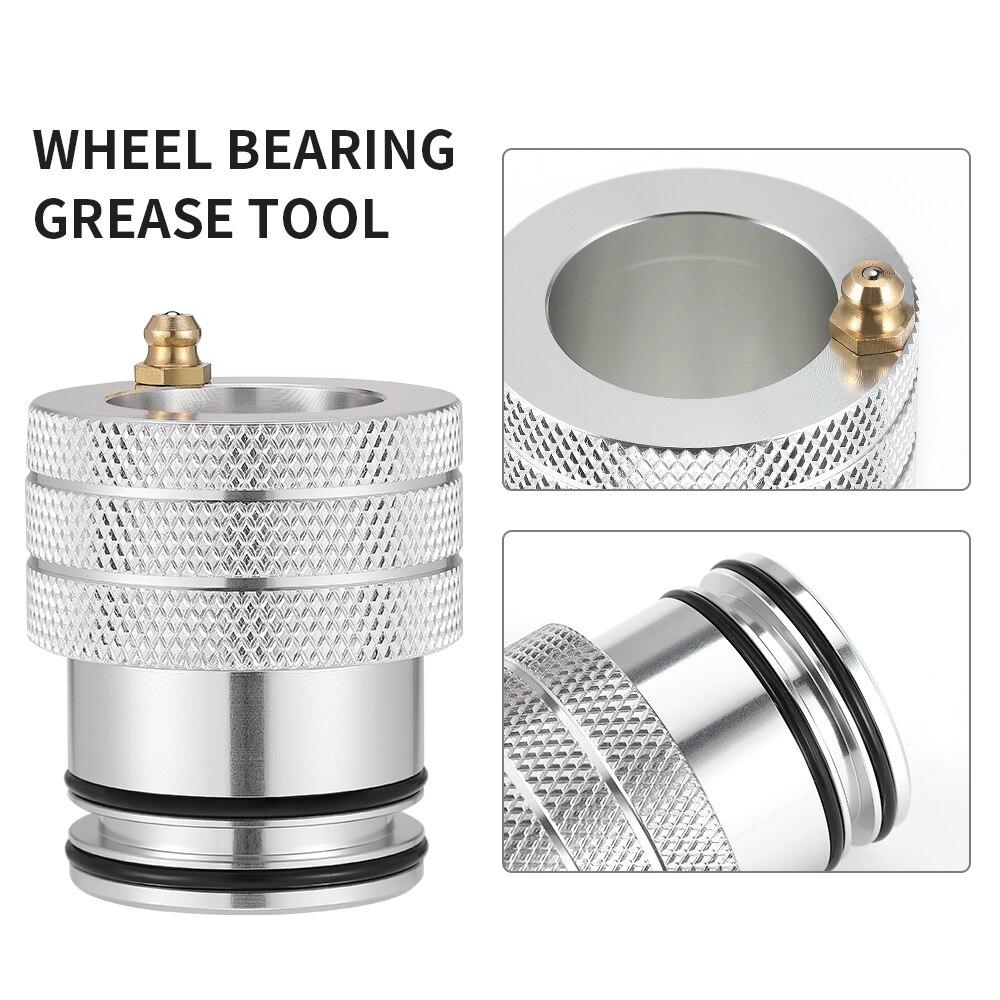 KEMIMOTO 39MM Wheel Bearing Tool UTV Aluminum For For CAN-AM MAVERICK X3 & MAX 293350109 Double-O-Ring-Seal-Design