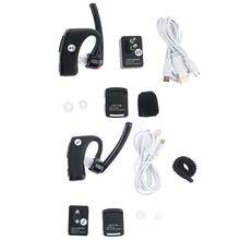 Walkie Talkie Bluetooth PTT Earpiece Wireless Headset Mic Adapter for UV-82 AXYF