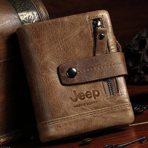 Image 5 - HUMERPAUL portefeuille en cuir véritable mode hommes porte monnaie petit porte cartes portefeuille Portomonee homme Walet pour ami sac dargent