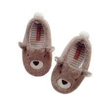 Mudipanda/Детская плюшевая обувь; Зимняя детская обувь для мальчиков